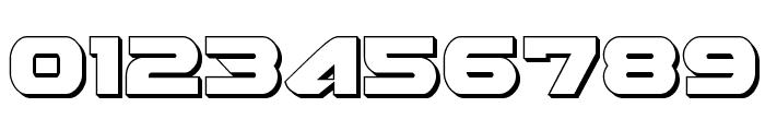 Skyhawk 3D Font OTHER CHARS