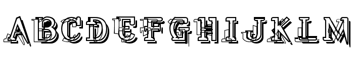 Skylab Font UPPERCASE