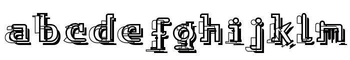 Skylab Font LOWERCASE