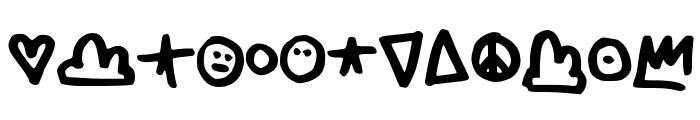 Skylarking Font LOWERCASE