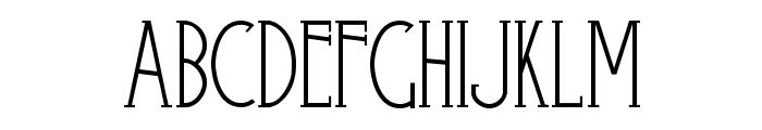 Skyliner-Regular Font UPPERCASE