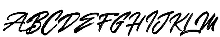 SkywalkerFreeDemo Font UPPERCASE
