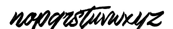 SkywalkerFreeDemo Font LOWERCASE