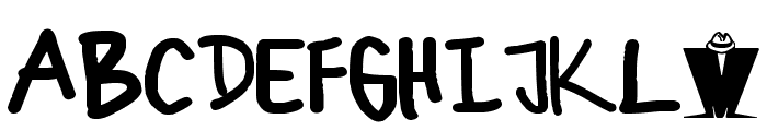 ska Bold Font UPPERCASE
