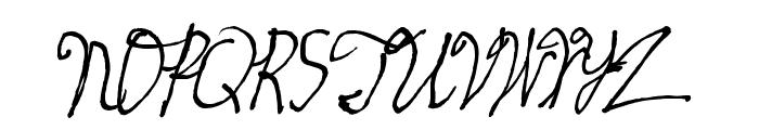 skeetch Font UPPERCASE