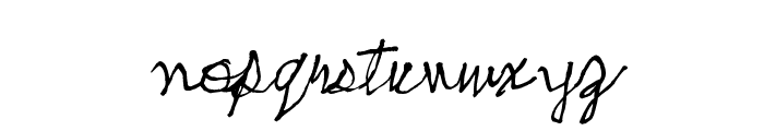 skeetch Font LOWERCASE