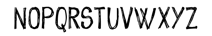 sketch me_FREE-version Font UPPERCASE