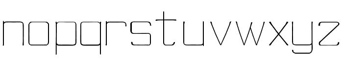 skinny minnieRegular Font LOWERCASE