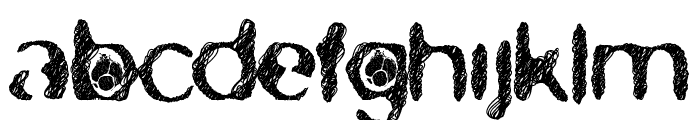 skirules-Sans2 Expanded Medium Font LOWERCASE