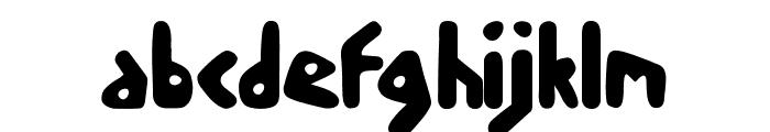 skoodle Font LOWERCASE