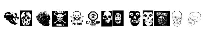 skull_TS Font UPPERCASE