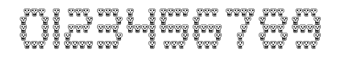 skully Regular Font OTHER CHARS