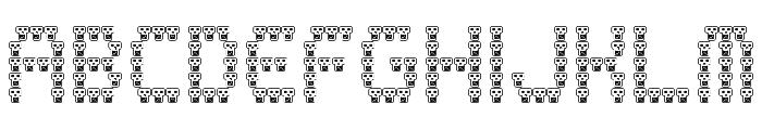 skully Regular Font UPPERCASE