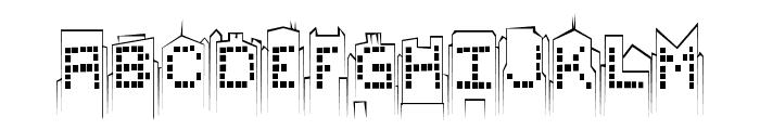 skylinesketch Font UPPERCASE