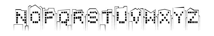 skylinesketch Font LOWERCASE