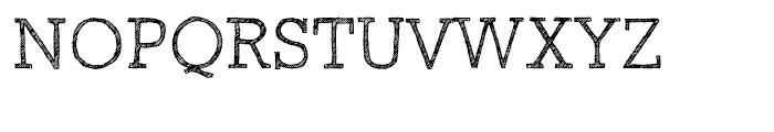 Sketch Block Light Font UPPERCASE