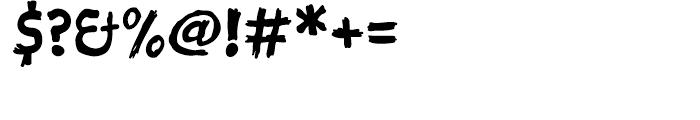Sketch Regular Font OTHER CHARS