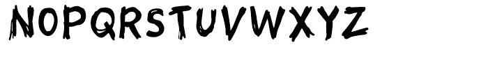 Sketch Regular Font UPPERCASE
