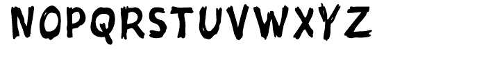 Sketch Regular Font LOWERCASE