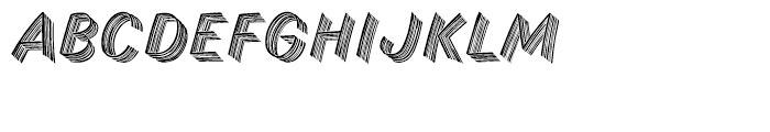 Skid Row Font UPPERCASE