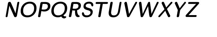 Skirt Italic Font UPPERCASE
