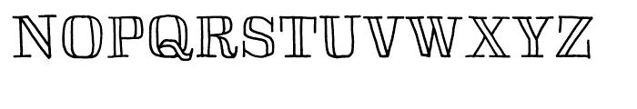 Skitch Regular Font UPPERCASE