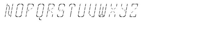 Skrean Fine Italic Font UPPERCASE
