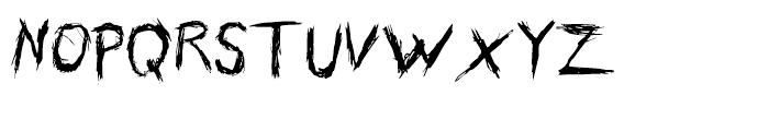 Skribler Regular Font UPPERCASE