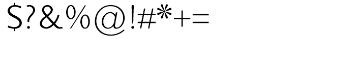 Sky Sans Book SC Font OTHER CHARS