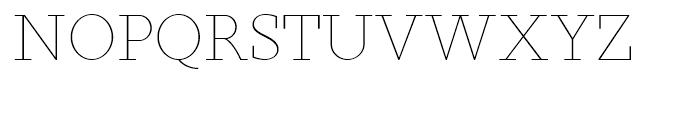 Sky Serif Light SC Font UPPERCASE