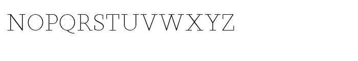 Sky Serif Light SC Font LOWERCASE
