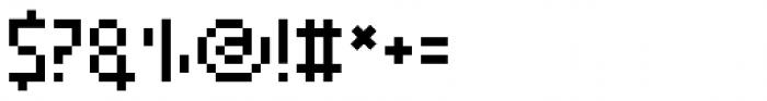 SK Eliz Regular Font OTHER CHARS