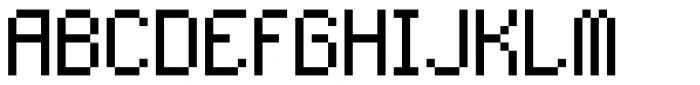 SK Eliz Regular Font UPPERCASE