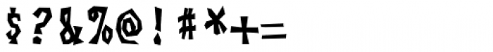 Skagwae Mono Bold Font OTHER CHARS