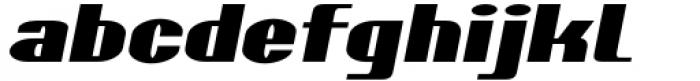 Skaklia Italic Font LOWERCASE