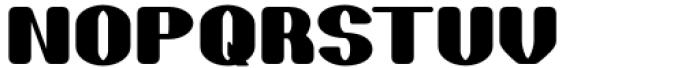 Skaklia Rounded Font UPPERCASE