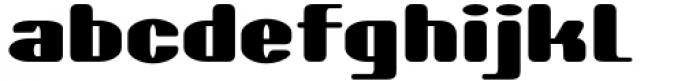 Skaklia Rounded Font LOWERCASE