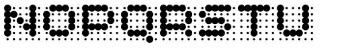 Skannerz Bold Font UPPERCASE