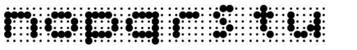 Skannerz Bold Font LOWERCASE