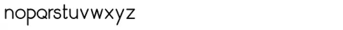 Skarpa Regular 2.0 Font LOWERCASE