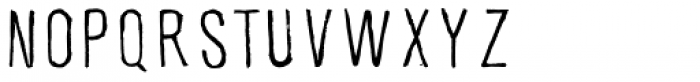 Skatista Font LOWERCASE