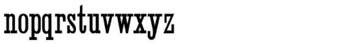 Skeleton Antique Light Font LOWERCASE
