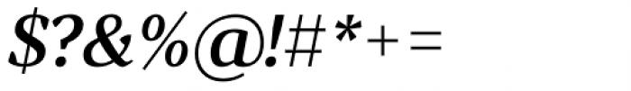 Skema Pro Display Medium Italic Font OTHER CHARS