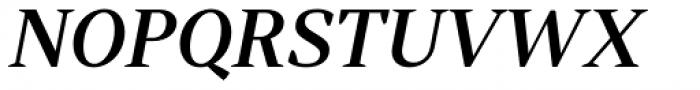 Skema Pro Display Medium Italic Font UPPERCASE