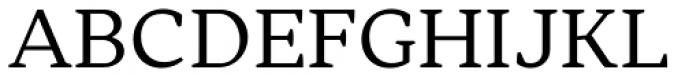Skema Pro Livro Regular Font UPPERCASE
