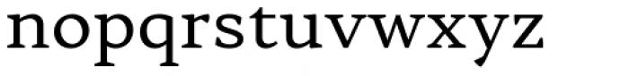 Skema Pro Livro Regular Font LOWERCASE