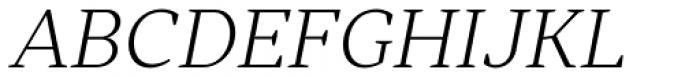 Skema Pro Omni Extra Light Italic Font UPPERCASE