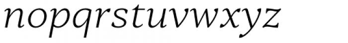 Skema Pro Omni Extra Light Italic Font LOWERCASE