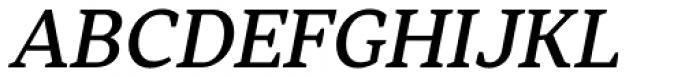 Skema Pro Text Medium Italic Font UPPERCASE