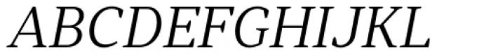 Skema Pro Title Light Italic Font UPPERCASE